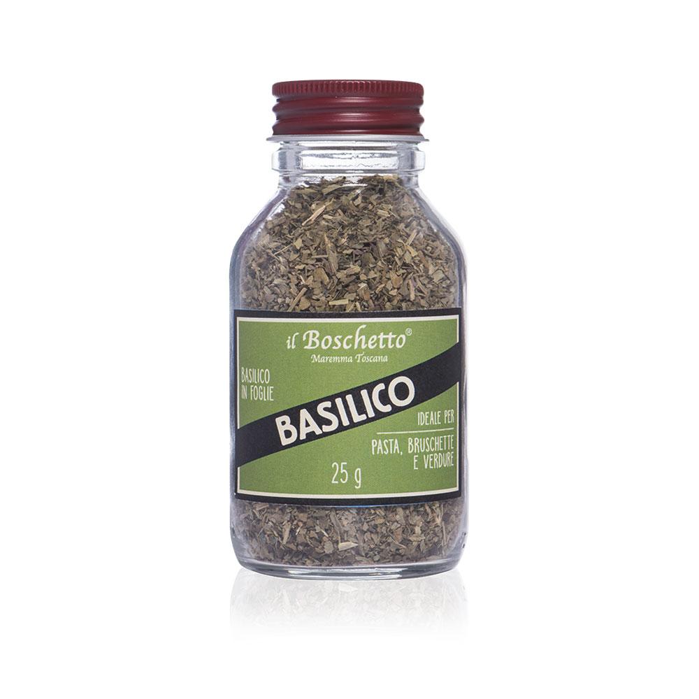 Basilico in foglie | Erbe & Spezie | Il Boschetto Maremma Toscana
