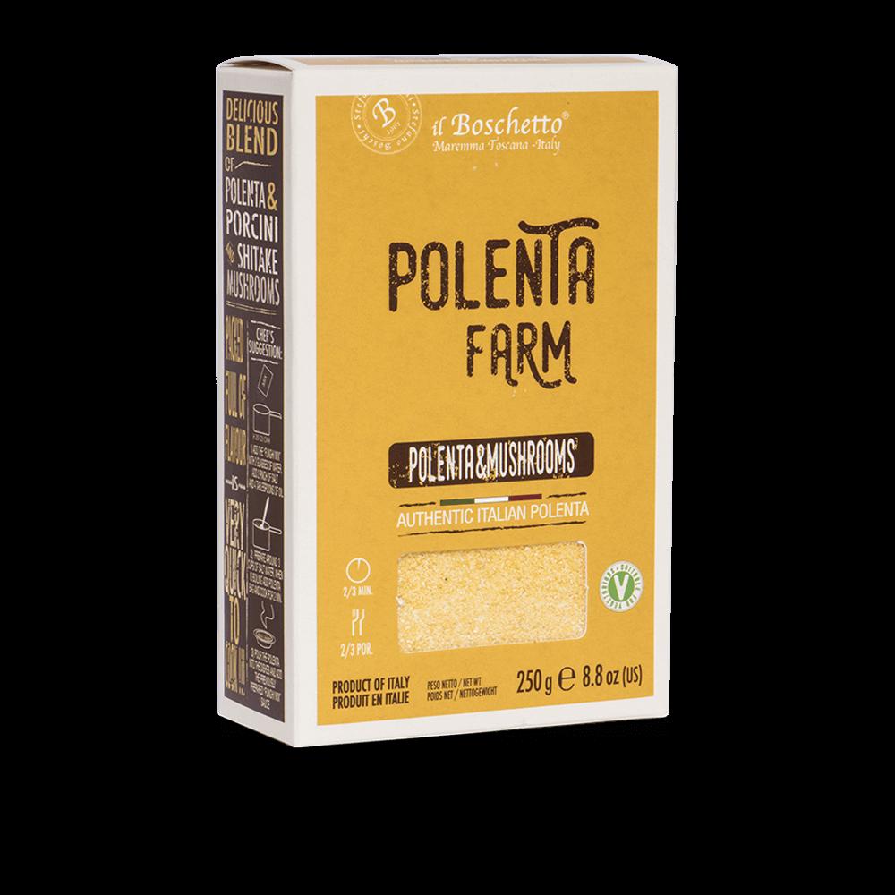 Box Polenta e Funghi | Risotti & Polente | Il Boschetto Maremma Toscana