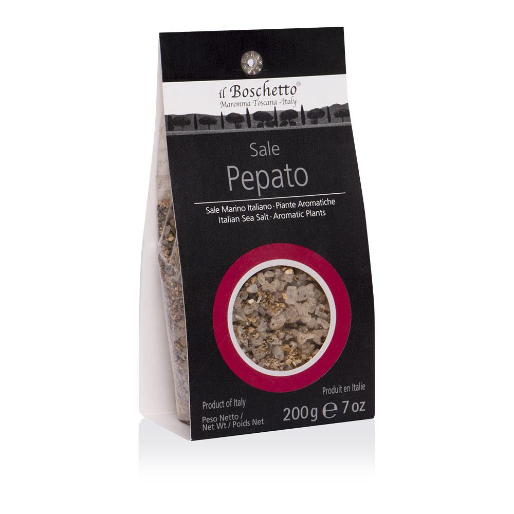 Sale pepato | Ricarica macinino | Erbe & Spezie | Il Boschetto Maremma Toscana