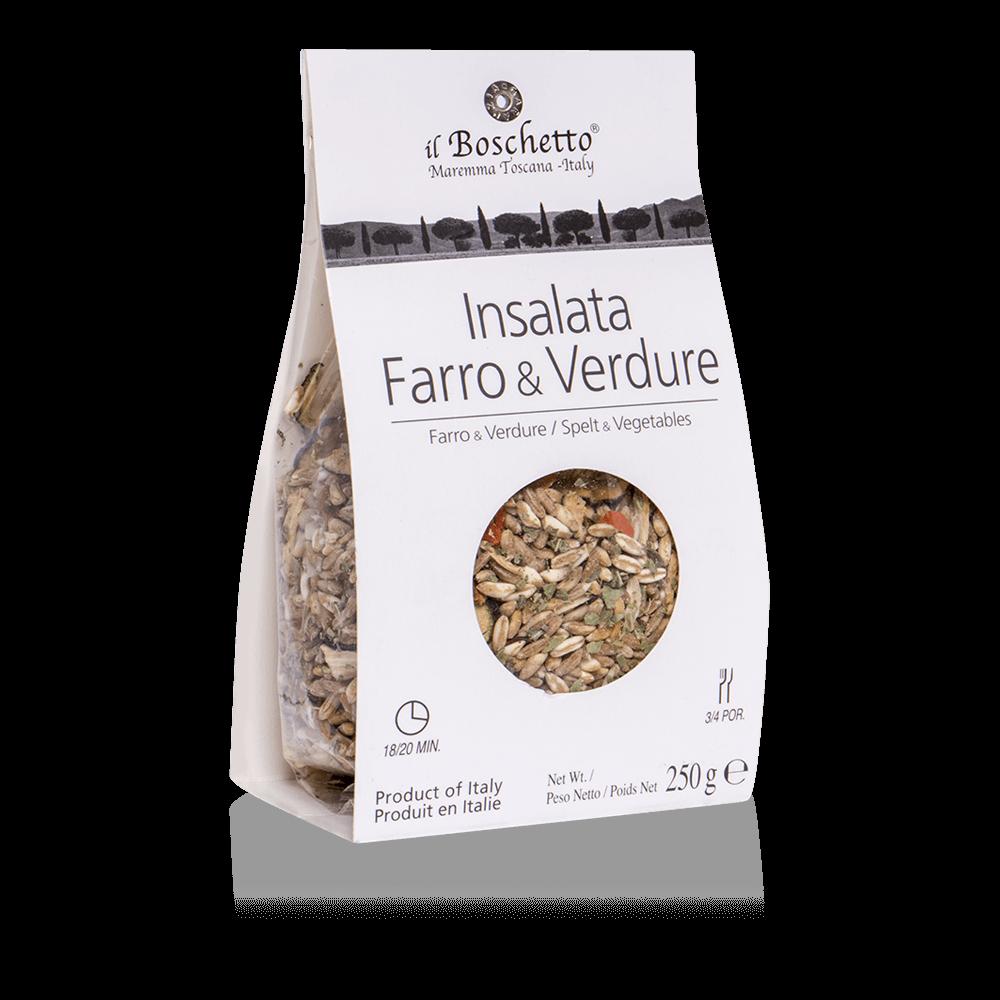 Insalata Farro e Verdure | Minestroni & Zuppe | Il Boschetto Maremma Toscana