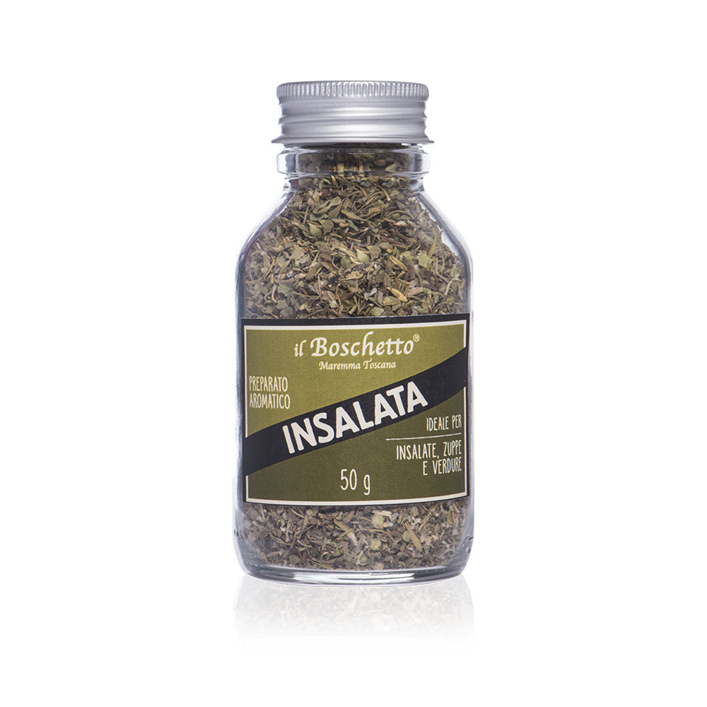 Preparato aromatico per insalata | Erbe & Spezie | Il Boschetto Maremma Toscana