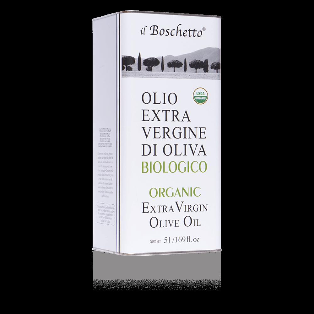 Olio EVO Biologico in latta da 5 litri | Olio EVO | Il Boschetto Maremma Toscana