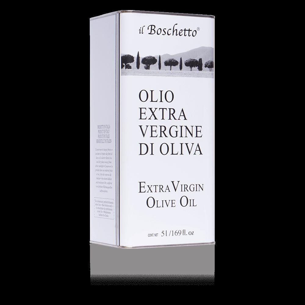 Olio EVO in latta da 5 litri | Olio EVO | Il Boschetto Maremma Toscana