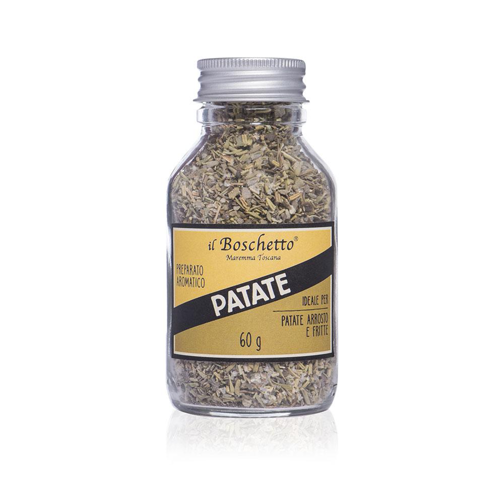 Preparato aromatico per patate | Erbe & Spezie | Il Boschetto Maremma Toscana